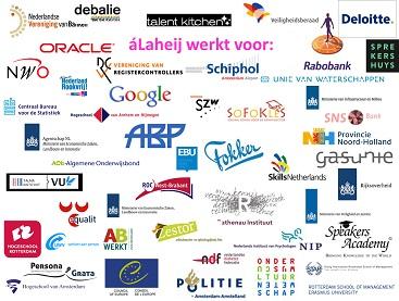 Logo's diverse opdrachtgevers