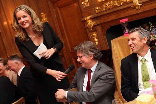 Laheij in gesprek met Lodewijk de Waal, Rai Mobiliteitsdiner 2012