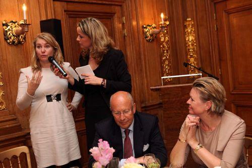Laheij in gesprek met minister van Infrastructuur en Milieu, Melanie Schultz
