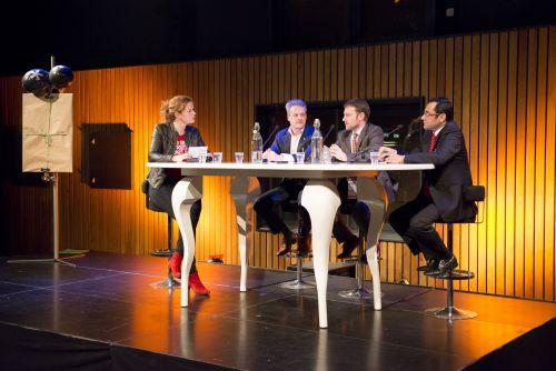 Talkshow 'Green Matter' Pakhuis de Zwijger feb 2014