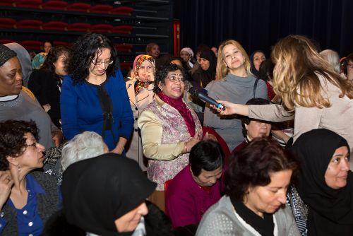 Vrouwendag Theater Vaillant, maart 2015
